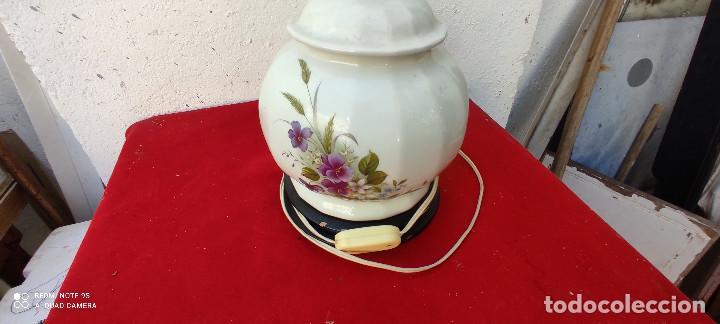 Vintage: lampara de ceramica sobremesa - Foto 3 - 287993048