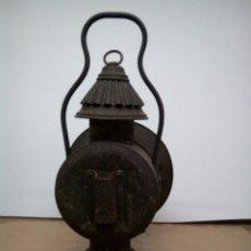 Vintage: ESTUPENDO FAROL DE FERROCARRIL.MUY ANTIGUO.. Lote 294055583