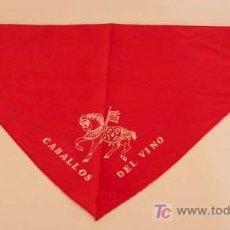 Vintage: CARAVACA DE LA CRUZ / PAÑUELO CABALLOS DEL VINO / AÑOS 70. Lote 25728771
