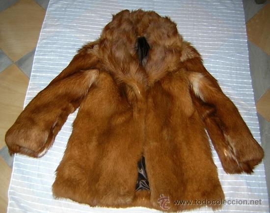 Abrigo zorro rojo