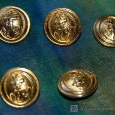 Vintage: BOTONES MARINERO 5. Lote 12998464