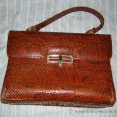 Vintage: BOLSO SERPIENTE, VINTAGE. Lote 27391160