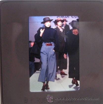 Vintage: DIAPOSITIVAS DE MODA AÑOS 80-90. PASARELA CIBELES. ORIGINALES¡¡ ENVIO CERTIFICADO GRATIS¡¡¡ - Foto 2 - 27082782