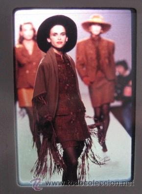 Vintage: DIAPOSITIVAS DE MODA AÑOS 80-90. PASARELA CIBELES. ORIGINALES¡¡ ENVIO CERTIFICADO GRATIS¡¡¡ - Foto 3 - 27082782