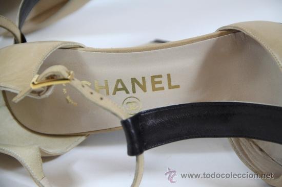 Vintage: Zapatos mujer CHANEL - Foto 5 - 22841880