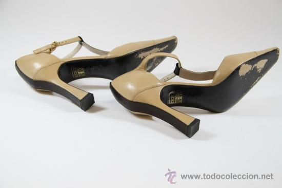 Vintage: Zapatos mujer CHANEL - Foto 6 - 22841880