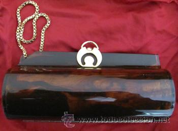 8fb5137ee Elegante bolso de fiesta tipo carey - de mano - - Vendido en Venta ...