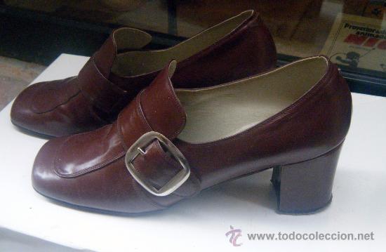 Vendido Mujer Zapatos De Lu En Años Antiguos Calzado Venta 60 CxoBed