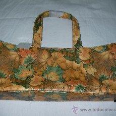 Vintage: ANTIGUO BOLSO VINTAGE HOJAS SECAS NUEVO DE TIENDA SIN USAR. Lote 27663768