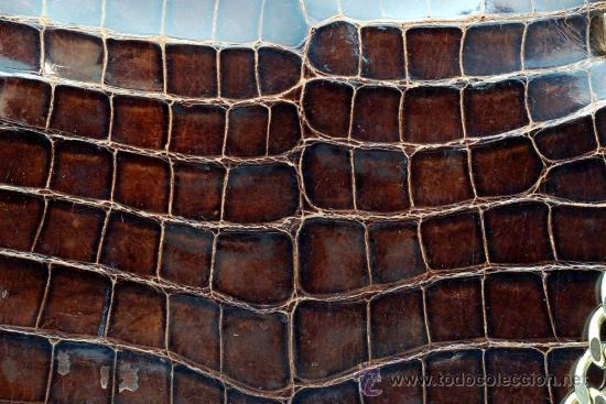 Vintage: Bolso rígido de piel años 50 - Foto 3 - 41379926
