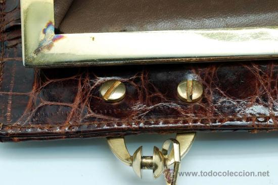Vintage: Bolso rígido de piel años 50 - Foto 12 - 41379926