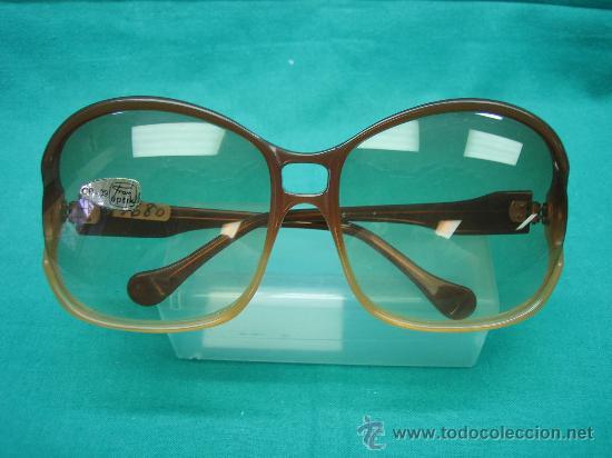 GAFAS DE SOL AÑOS 50/60 MARCA FRAN OPTIK. ANCHO FRONTAL 14 CM (Vintage - Moda - Complementos)