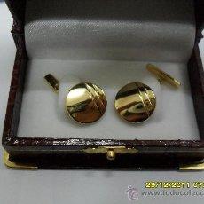 Vintage: GEMELOS ORO 18 K.. Lote 29988100