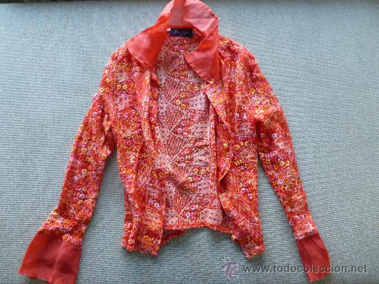 Preciosa blusa bordada. IAN MOSH. T3. Excelente estado, como nueva. segunda mano