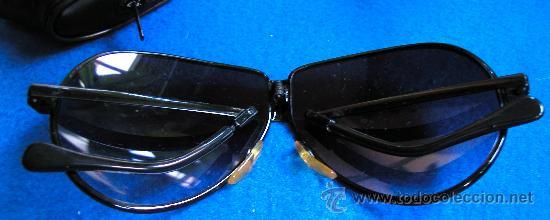 Vintage: Auténticas gafas vintage tipo aviador década 70-80 plegables Marca FERARRI con funda original - Foto 6 - 30632607