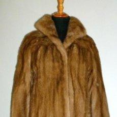 Vintage: EXCEPCIONAL ABRIGO DE VISON TALLA 40-46. Lote 31322883