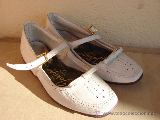 bc7eeec06 ANTIGUOS ZAPATOS DE NIÑA. AÑOS 50-60 (Vintage - Moda - Complementos) ...