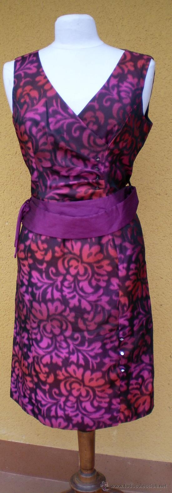 vestido de boutique años 80, para fiesta o cere - Comprar Moda ...