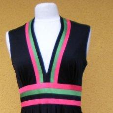 Vintage: PRIMAVERAL VESTIDO MUJER AÑOS 70 DE BOUTIQUE. Lote 32691753