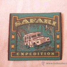 Vintage: PARCHE DE HILO,SAFARI EXPEDITION.. Lote 33274687
