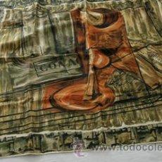 Vintage: PAÑUELO SEDA NATURAL | FOULARD SILK | SCARF. Lote 33813342
