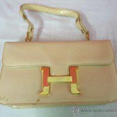 Vintage: BOLSO VINTAGE BLANCO HUESO. H .. .. Lote 35900201