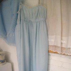 Vintage: CAMISON AZUL (PRECIO REBAJADO). Lote 36429468