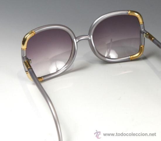 Vintage: Gafas de sol TED LAPIDUS 60x20mm. Modelo Vintage, años 60 - Foto 2 - 36675622