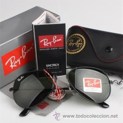 Gafas Rb 3025 Rayban Aviador Montura Negra Cr Sold Through Direct Sale 37190684