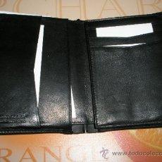 Vintage: PRECIOSA BILLETERA/TARJETERO DE PIEL-SAMSONITE-NEGRO-12X9,5 CMS-.. Lote 37057092