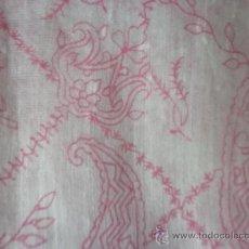 Vintage: PRECIOSO FOULARD PINTADO A MANO DE INDIA. Lote 37554547