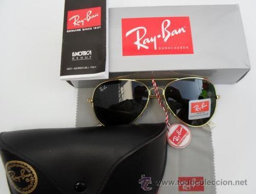 gafas ray ban aviator tallas