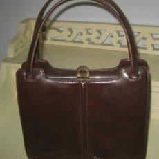 Vintage: BOLSO EN PIEL -AÑOS 50.. Lote 37932927