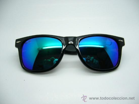 gafas ray ban wayfarer azules precio