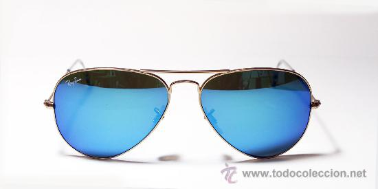 lentes ray ban azules