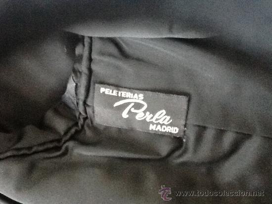 Vintage: Chaqueton piel astracan negro - Foto 3 - 39025347