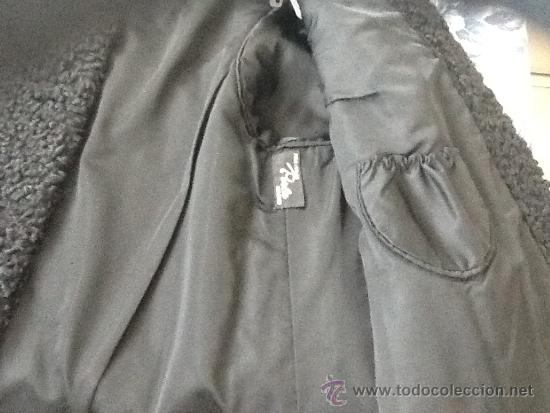 Vintage: Chaqueton piel astracan negro - Foto 4 - 39025347