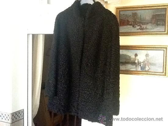 Vintage: Chaqueton piel astracan negro - Foto 6 - 39025347