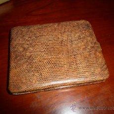 Vintage: BONITA PITILLERA, CARTERA, IMITACION PIEL DE SERPIENTE. A ESTRENAR. ORIGINAL VINTAGE.. Lote 39207685