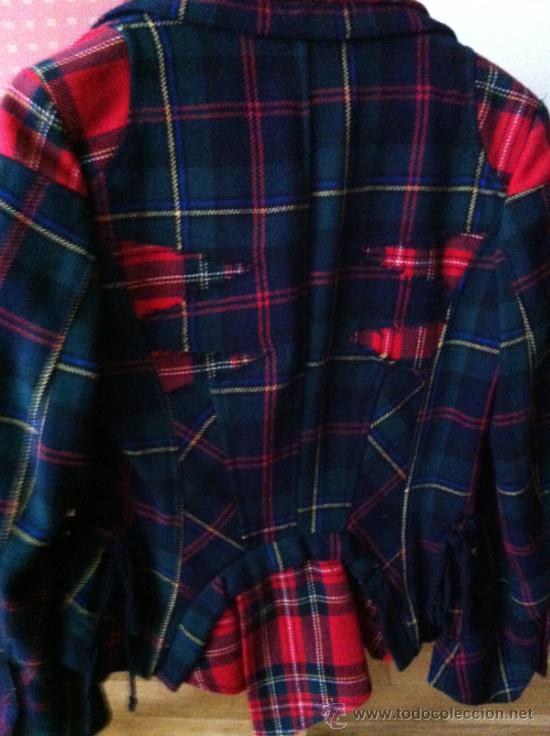 chaqueta mujer escocesa vintage Moda 70 originalisima años Comprar rx1CqrwP