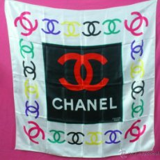 Vintage: . PAÑUELO O FULAR DE CHANEL. Lote 39405635
