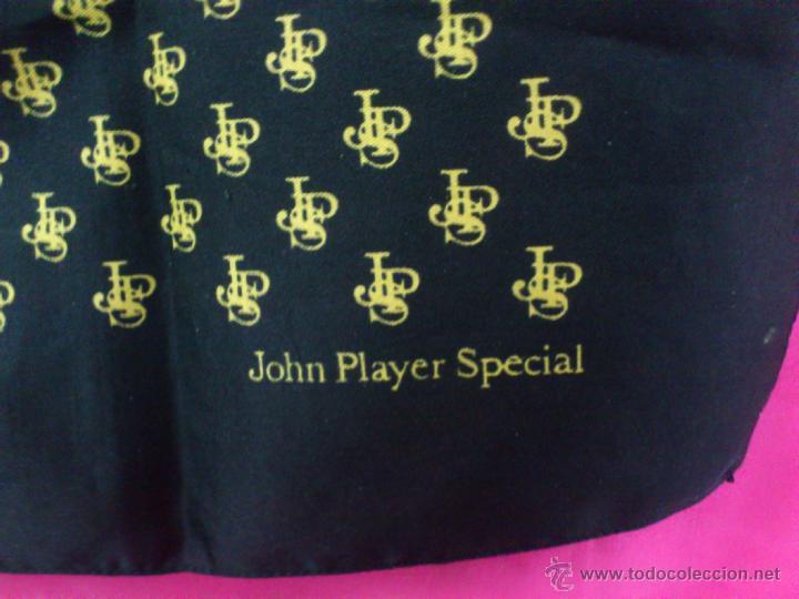 Vintage: . PAÑUELO PUBLICIDAD: JOHN PLAYER SPECIAL. MEDIDAS: 68 X 68 CM. - Foto 2 - 39413689