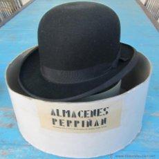 Vintage: ANTIGUO Y PRECIOSO BOMBIN- ALMACENES PERPIÑAN ATOCHA T EDUARDO DATO MADRID - EN SU CAJA ORIGINAL - E. Lote 39577496