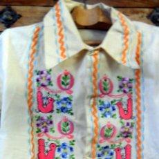 Vintage: BLUSA AÑOS 70 MADE IN MÉXICO 100% ALGODÓN. Lote 40032208