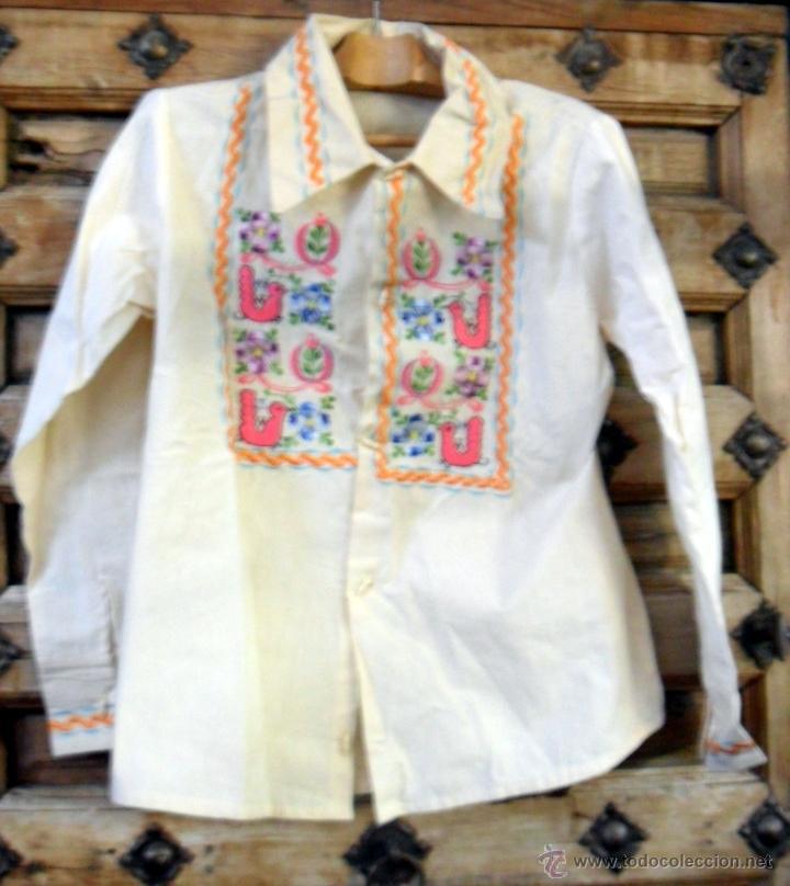 Vintage: Blusa Años 70 Made in México 100% algodón - Foto 2 - 40032208