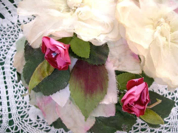 Vintage: Tocado casquete o sombrero de novia de los años 30. Sin estrenar. 20 40 1920s 1930s 1940s Art Decó - Foto 2 - 40243463