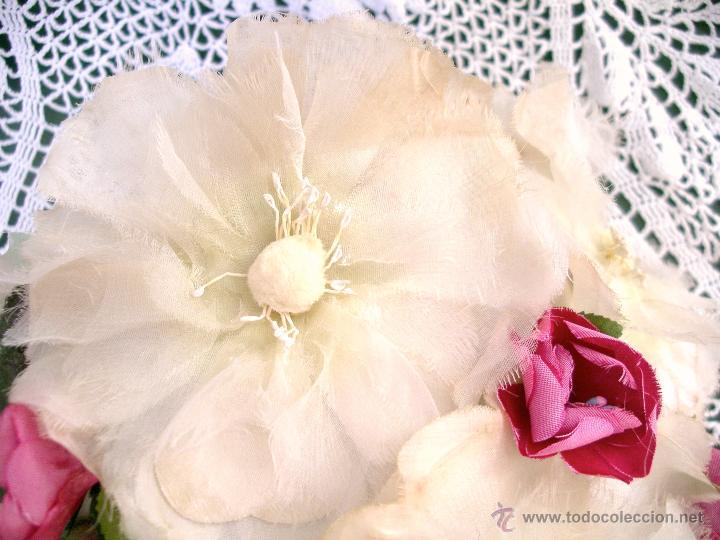 Vintage: Tocado casquete o sombrero de novia de los años 30. Sin estrenar. 20 40 1920s 1930s 1940s Art Decó - Foto 3 - 40243463