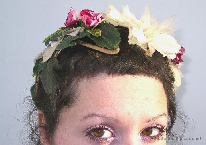 Vintage: Tocado casquete o sombrero de novia de los años 30. Sin estrenar. 20 40 1920s 1930s 1940s Art Decó - Foto 7 - 40243463