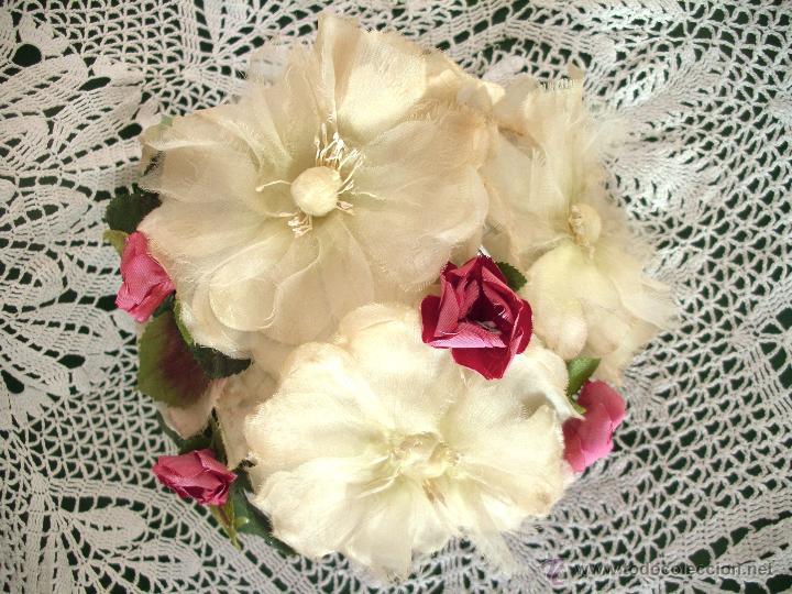 Vintage: Tocado casquete o sombrero de novia de los años 30. Sin estrenar. 20 40 1920s 1930s 1940s Art Decó - Foto 10 - 40243463