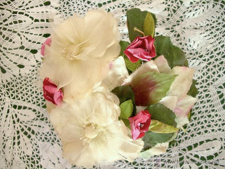 Vintage: Tocado casquete o sombrero de novia de los años 30. Sin estrenar. 20 40 1920s 1930s 1940s Art Decó - Foto 12 - 40243463